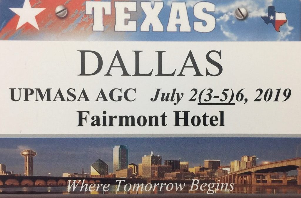 Annual Grand Convention: Dallas 2019